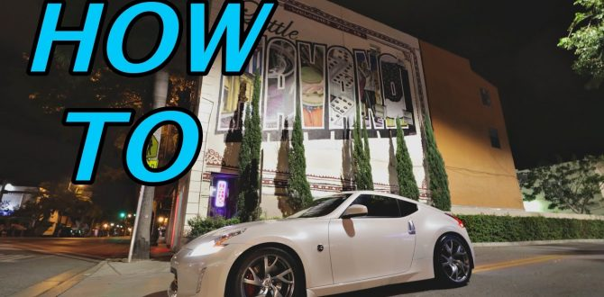 How to Clean 370Z Touring Interior