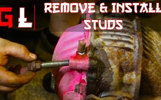 How to remove and install studs without special tools | Now You Know