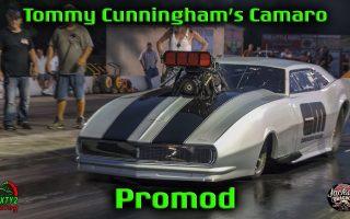 Tommy Cunningham's Promod Camaro (Jackson Dragway) (4k video)