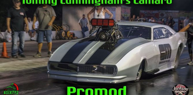 Tommy Cunningham's Promod Camaro (Jackson Dragway) (4k video)
