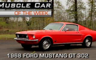 1968 Ford Mustang GT Fastback 302 2+2: Muscle Car Of The Week Video Episode 226 V8TV