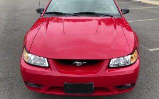 1999 Mustang SVT Cobra Convertible