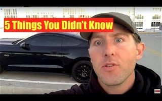 2015 Mustang GT - 5 Things You Didn't Know