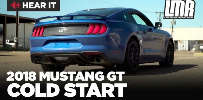 2018 Mustang GT Performance Pack Cold Start Exhaust - LMR