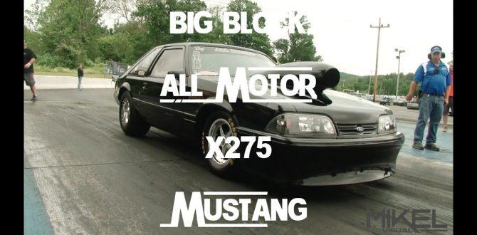 All Motor Big Block 625ci X275 Ford Mustang - Depriest Racing