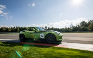 Mazda and Long Road Racing Build 150th Global MX-5 Cup Racecar