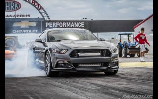 Mike's Twin Turbo Mustang - Quest for 9's on 20's