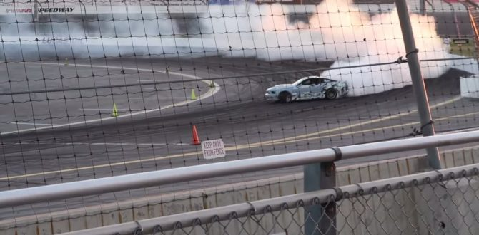 Mustang Drifting Gone Wrong