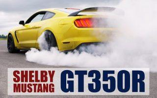 Shelby Mustang GT350R On Track & Killing Tyres [Plus Giveaway]