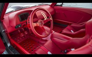1965 Timeless Kustoms Vicious Mustang Interior