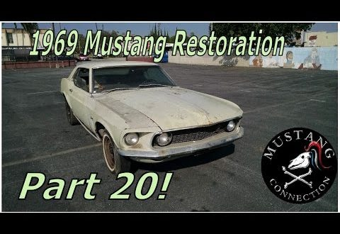 1969 Ford  Mustang Restoration New time for the New Lime Part 20 Mustang Connection