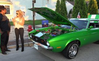 1972 Ford Mustang - He Likes His Green