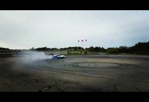Amazing Ford Mustang Foxbody with V12 Engine Drifting