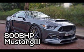 Crazy 800bhp Mustang (CS800)
