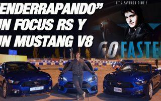 Haciendo el cabra con un Mustang V8 y un Focus RS en el evento GoFaster de Ford - RPMlog #40