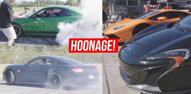 HOONAGE with Derek Baran & Mustang Lifestyle + SICK car meet!