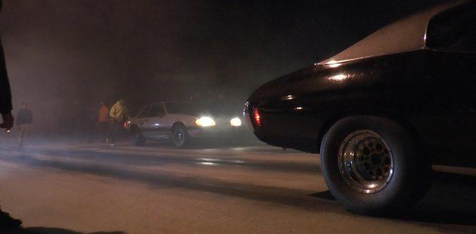 Nitrous Big Block Chevelle vs Nitrous LS Mustang | Street Race