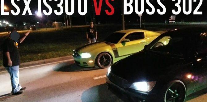 Nitrous LSX is300 vs Nitrous Mustang Boss 302