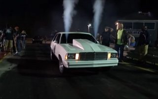 Nitrous Malibu vs Red Mustang in an unexpected ending