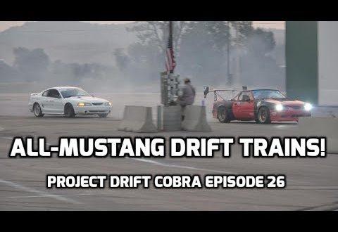 Running a Mustang Drift Train! | Project Drift Cobra Episode 26