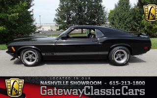 1970 Ford Mustang Mach 1, Gateway Classic Cars-Nashville#587