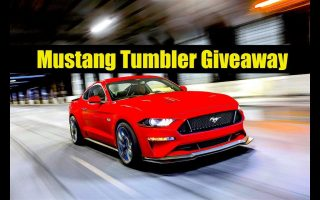 2018 Mustang - Mustang Tumbler Giveaway - 2019 Mercedes Spied in Hollywood