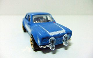 "´70 FORD ESCORT RS1600 ""Fast & Furious""  - HOT WHEELS"