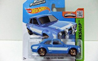 "´70 FORD ESCORT RS1600 ""Fast & Furious""  - HOT WHEELS"