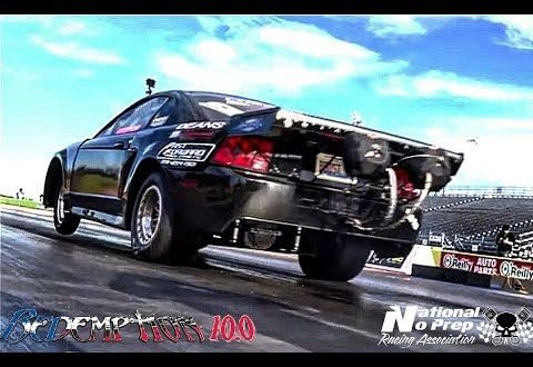 Boost12 twin turbo mustang vs The Luv at Redemption 10