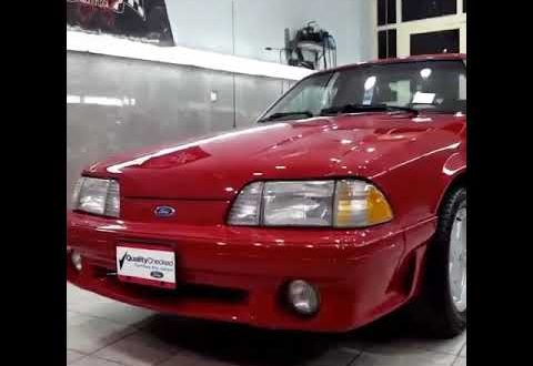 Clean 1993 Mustang GT 5