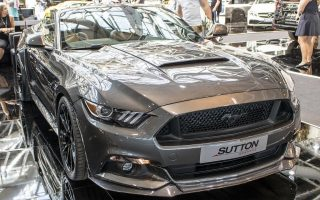 CLIVE SUTTON MUSTANG CS500 CONVERTIBLE - TOP MARQUES MONACO 2017 HQ