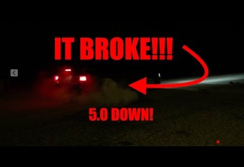 Rear Axle Almost Explodes! My 1987 Mustang GT 5
