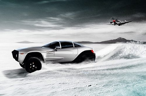 This badass rendering was submitted for the Rally Fighter Ar