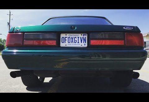 1992 Mustang LX Notchback