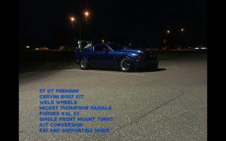 900WHP Turbo Mustang GT 3V!!! Test Pulls