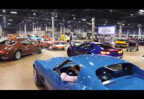 Awesome Sounding Cars Leaving Muscle Car and Corvette Nationals (MCACN) 2017 in Chicago