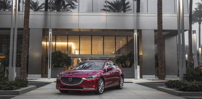 The Science of Performance: Torque, Horsepower and the new, turbocharged 2018 Mazda6 sedan